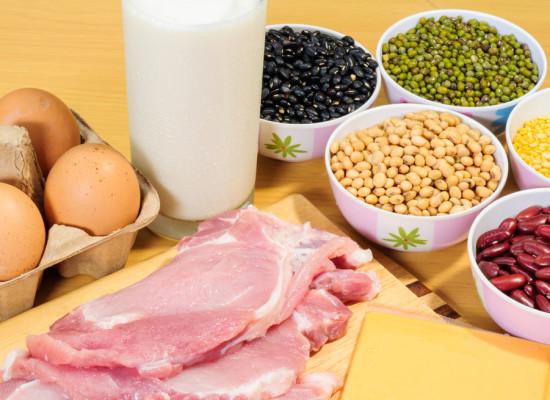 Come la cantidad de proteínas que necesites